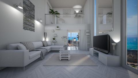 Lanzarote Beach Home - Living room - by creato