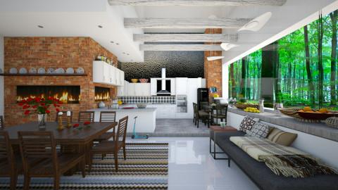 Family Home - Eclectic - Kitchen - by Ida Dzanovic