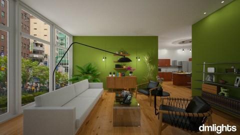 Symmetry  - Living room - by DMLights-user-1517373