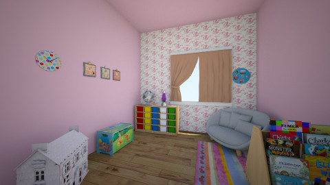 children room - by fodornori
