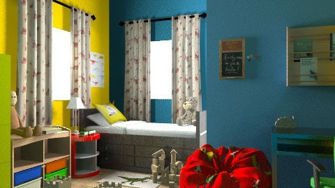 Kotán Krisztina - Classic - Kids room - by kokrisz
