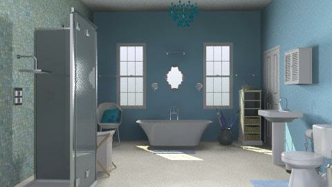 bloo bathroom - Bathroom - by SarahLou