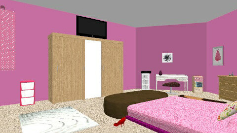 Teen girl room - Glamour - Kids room - by hannah1122