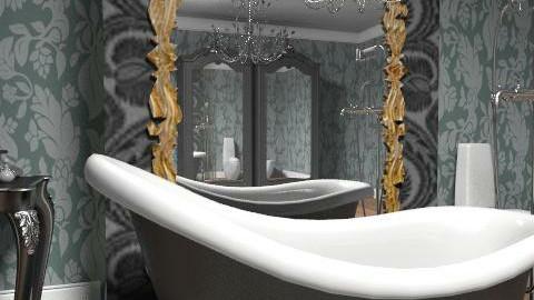 bathroom_02 - Retro - Bathroom - by decoart