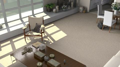 Angela's Apartment - Glamour - Living room - by camilla_saurus