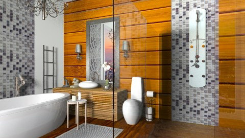Shine Batroom - Glamour - Bathroom - by sahfs
