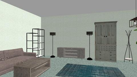 mountain side - Bedroom - by emily kraw