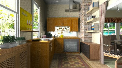 Kitchen and dining - Classic - Kitchen - by milyca8