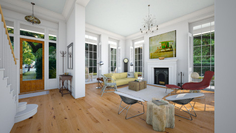 Polyhymnia - Eclectic - Living room - by russ