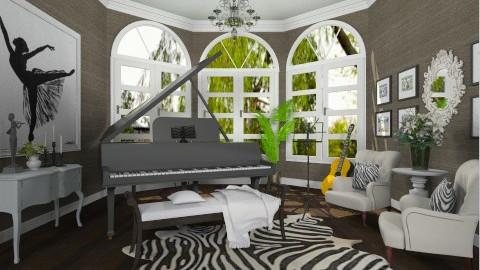 Music room - Living room - by XValidze