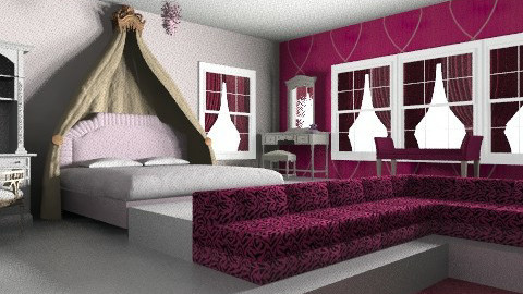 Sleeping Beauty - Glamour - Bedroom - by aconnell