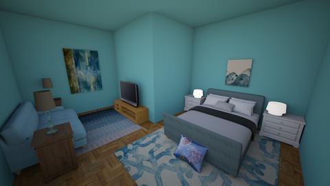 Tropical Hotel Room - by Galaxy Warrior