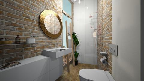 Casa280Bathroom - Modern - Bathroom - by nickynunes