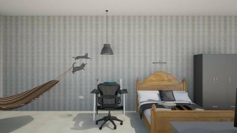 Projeto Paola pro Helder2 - Bedroom - by Paola ApMoura
