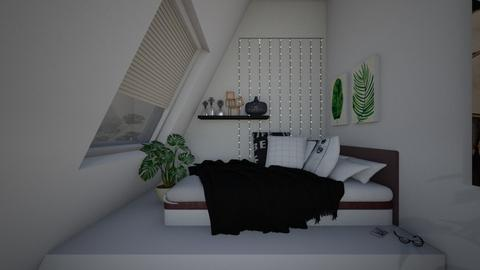 tumblr room - Bedroom - by thirzamak