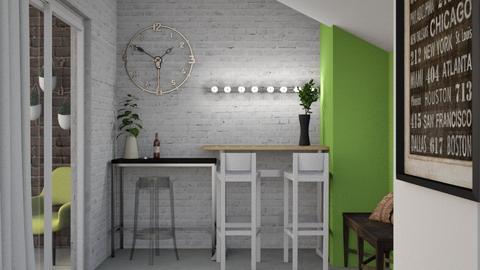 Hall 4 - Modern - Dining room - by Jessica Fox