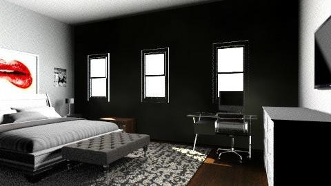 Ballagio House Room - Bedroom - by Jordan Anderson