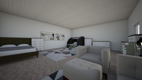 living room 1 redesighn - Bedroom - by P00lchickenDude