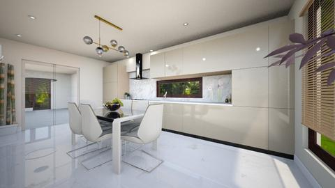 light crem kitchen 6 - Glamour - Kitchen - by Vasile Bianca Rozalia