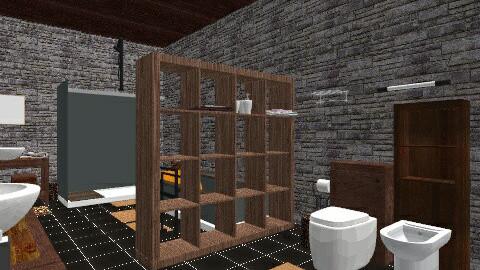 saladeban1 - Rustic - Bathroom - by izarochaa