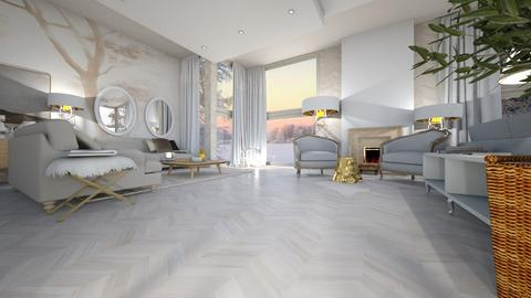 Aspen Chalet Template - Living room - by ana111