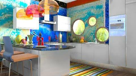 Koocoo Kitchen . - Retro - Kitchen - by rampage