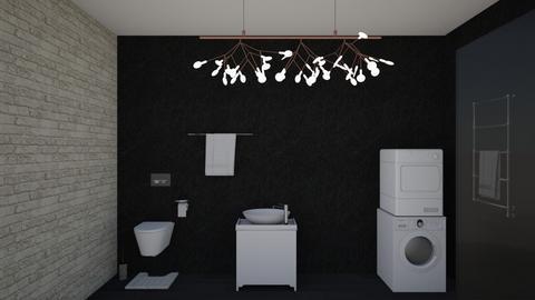 bath1 - Modern - Bathroom - by Anelia1601