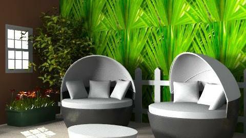 Garden Atmosphere 2 - Modern - Garden - by DesignerLady