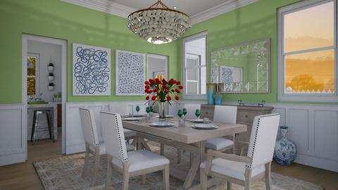Green Dining - Dining room - by lauren_murphy