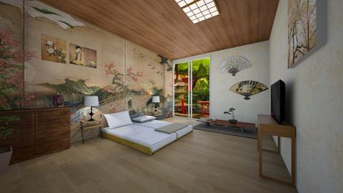 UH Japao - Bedroom - by liandrade