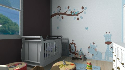 Copy from Another Copy - Classic - Kids room - by Reported