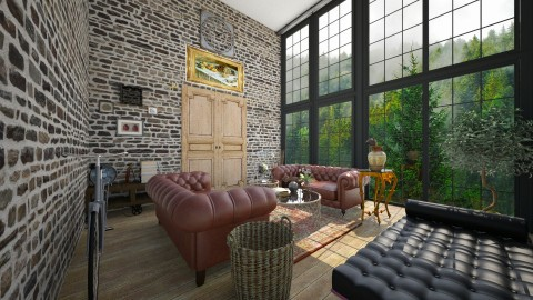 Lounge - Living room - by nelly_wreland
