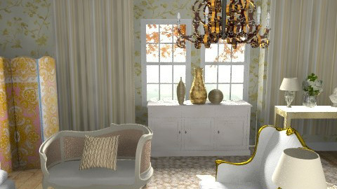 Glam - Glamour - Living room - by hunny