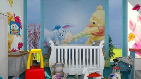 Nursery Room - Modern - Kids room - by Luisy
