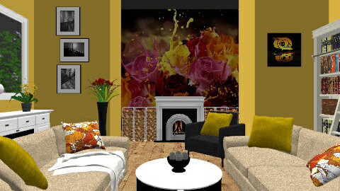 Giallo - Living room - by Vivere