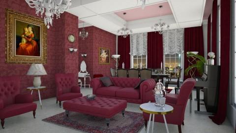 mina - Living room - by marmary83