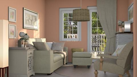 linen and sky - Living room - by laughterlines