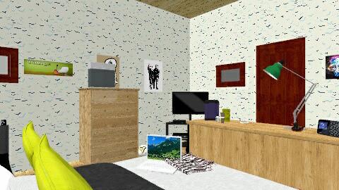 boy - Bedroom - by ferguesfalls
