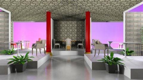 cafe Platform - Modern - by PSophie