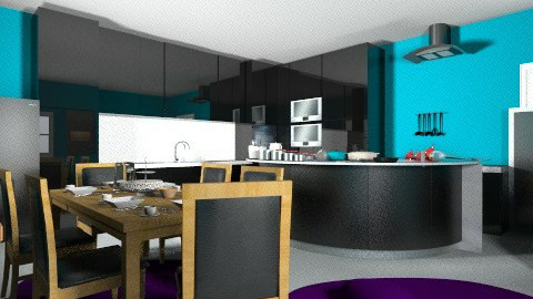 Perfect Kitchen Or Dining - Modern - Kitchen - by Nayel Arif