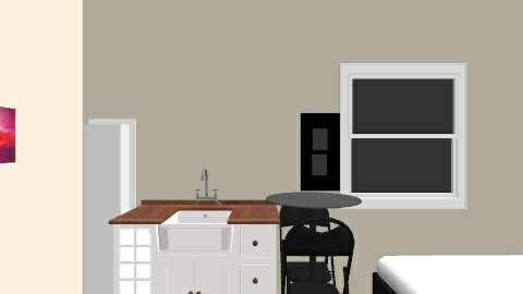 Micro apartment - Bedroom - by perfectpanda37