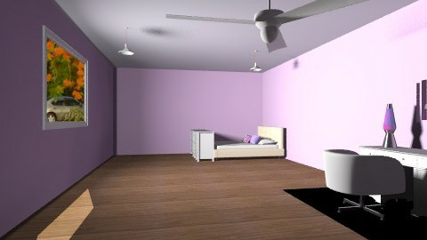 Purple fashion room - Modern - Bedroom - by batha2001