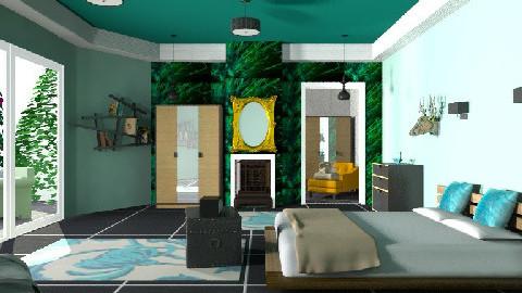 Loretta - Minimal - Bedroom - by mrschicken