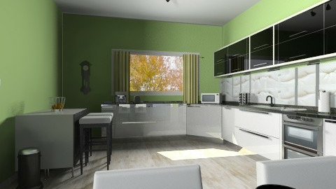 Kitchen_dining - Classic - Kitchen - by shelbyboyko