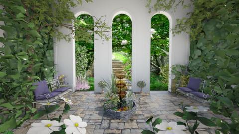 Secret garden - Garden - by Lizzy0715