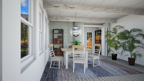 houhousese - Rustic - Living room - by Claudia Ramirez_891