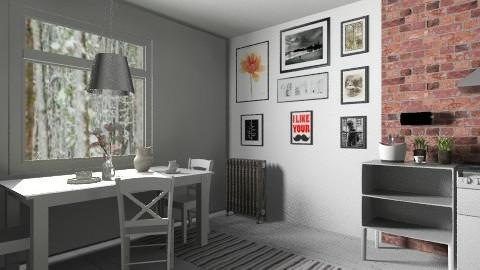 whi - Kitchen - by anggp