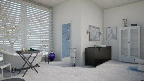Blue - Eclectic - Bathroom - by nathaly_cardoso