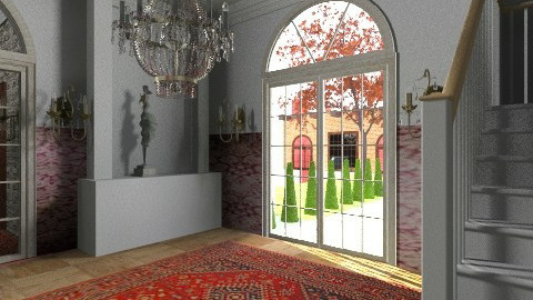 Ammel Mansion - Glamour - Living room - by steven0