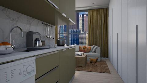 Apartment in Seoul  - by Valentinapenta